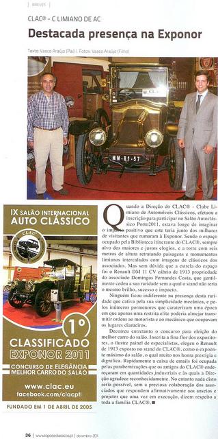 Reportagem sobre o CLAC   Revista Topos & Clássicos